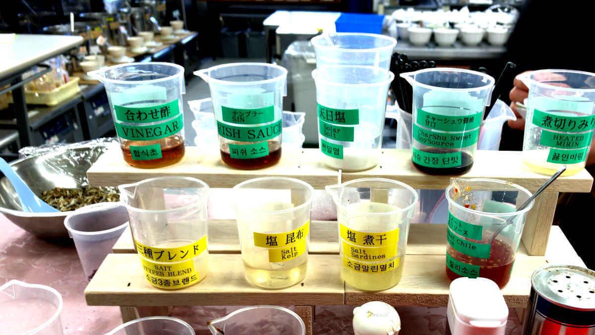 ramen soup blending