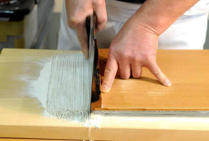 soba hand making